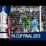 Man City 0 - [1] Wigan Athletic: Watson '88 (FA Cup - Final)