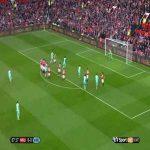 Manchester United 0-[1] West Ham - Dimitri Payet free kick 68'
