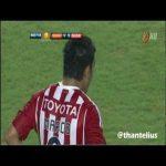 Marco fabian (Chivas) highlights vs Barcelona