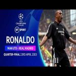 Ronaldo individual highlights. Real Madrid vs Manchester United (2003) BT's Champions League classic displays