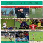 Conflict in Literature: Football edition.