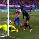 Atlético Madrid 2- [1 ] Real Madrid - Isco 42' (2017 UCL SF 2nd leg ) (great skill by Benzema on goal line)