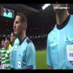Just listen to this atmosphere at Celtic Park as the UCL anthem is played