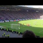 Leigh Griffiths 2nd Freekick vs England - a view from the stand.