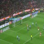 Nemanja Matic Puskas finalist goal vs Porto (2012/2013)