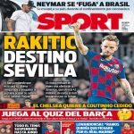 [SPORT] Ivan Rakitić heading for Barcelona exit! The club understands that this will be his last season and the player would like to end his career at Sevilla.