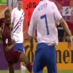 16 yellow cards, 4 red cards: the Battle of Nuremberg (Portugal 1-0 Netherlands, 2006 FIFA World Cup)