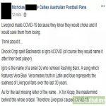Liverpool is responsible for Coronavirus