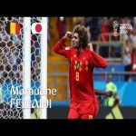 Marouane FELLAINI goal – Belgium v Japan