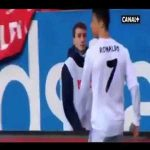 Ronaldo vs ball boy