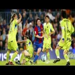 Xavi makes insane assist to Messi's goal [Great Assist]
