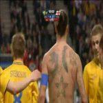 Zlatan Ibrahimovic's goal vs England