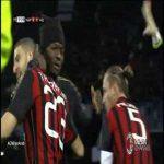 Napoli 0-1 AC Milan - Adel Taarabt 7'