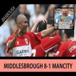 [Match Highlights] Middlesbrough 8-1 Man City - Premier League 2007/08 season