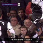 Papiss Cissé's first goal against Chelsea could have also won goal of the season