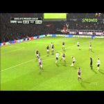 Tom Carroll with a defence-splitting pass to set up Gareth Bale against West ham