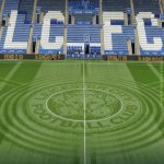 Leicester city groundsman in their peak