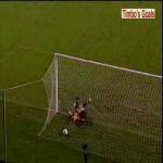 Paul Merson with a great lob against Everton from 2000 for Aston Villa