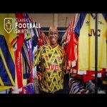My Classic Football Shirts Warehouse Tour with Ian Wright