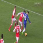 Eden Hazard solo goal Chelsea vs Arsenal 16/17