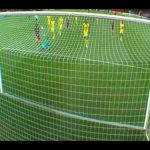 Messi chipping Almunia from 1 yard out - Barcelona vs Arsenal 2010/11