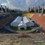 The 45,000-capacity Pacaembu Stadium in downtown São Paulo is being turned into an open-air hospital to handle patients with coronavirus after the US/EU-backed far-right Brazil's president refused to take the threat of the coronavirus seriously