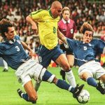 Two of the greatest defenders trying to stop one of the greatest strikers! #TB