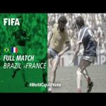 Brazil vs France (Mexico 1986) is premiering on fifa tv when this post is 1 hour old
