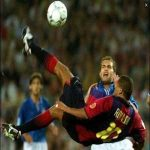 Rivaldo Hat-trick vs Valencia. (2001). One of the finest individual performances of all time.