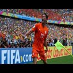 Huntelaar Penalty vs Mexico (World Cup 2014) + call