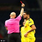 Official: Emre Can handed 2 match suspension in UCL following his red card vs PSG