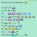 Name the footballer