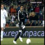ZID 3-0 RON. 70' Jamel Debbouze goal (Zinedine Zidane assist)