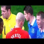 Flashback to this yellow card for a Mirallis challenge on Suarez