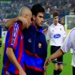 Mourinho and Ronaldo back when they were both in Barcelona.