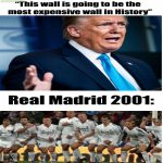 The most expensive wall..