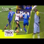BEST Premier League Skills | Ronaldo Rabona, Son Stepover, Balotelli Shoulder Goal!