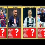 Money Comparison: Year to Second Top 10 Highest Paid Football/Soccer Players