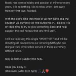 Aston Villa defender Kortney Hause is releasing new single 'Worth It' on April 24th, with all proceeds going to NHS