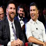 "Wayne Rooney: ""Ronaldo is my friend, but Messi is better. Ronaldo is ruthless in the penalty box but Messi likes to torture you before killing you. They both changed the game with their goal numbers, we will never see a player on the same level as these two."""