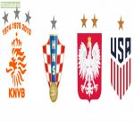I've got this idea that runner-ups and third place teams of the World Cup can have a silver or bronze star above their crest depending on their historical achievments. So if Poland wins the World Cup of 2022 they ditch the two bronze stars for one gold one.
