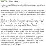 Per Mertesacker on Michael Ballack's right foot and leadership
