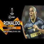 Ronaldo's jaw-dropping performance in the 1998 UEFA Cup Final vs Lazio | Individual highlights