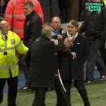 Throwback to Roberto Mancini and Sir Alex Ferguson arguing on the touchline during Manchester City's 1-0 win over Manchester United in the 2011/12 season