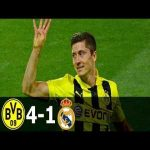 On this day in 2013 Robert Lewandowski has scored 4 goals against Real Madrid in Champions League semi-final.