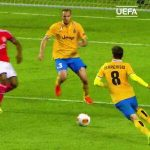 On this day in 2014, Lima scored this great goal against Juventus in the semis of the Europa League
