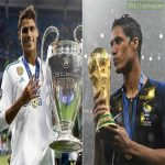Raphaël Varane, one of the most underappreciated footballers in the world right now, turns 27 today. He has won 17 major titles with Real Madrid and the World Cup with France, and is believed to be the heir to the role of captain at Real Madrid after Sergio Ramos retires. Incredible player.