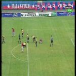 21 years ago this incredible 20m header goal was scored in Ekstraklasa