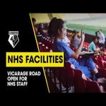 Watford FC Supporting Watford NHS Hospital