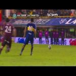 Juan Roman Riquelme crazy no touch nutmeg vs Lanus 11.05.2014